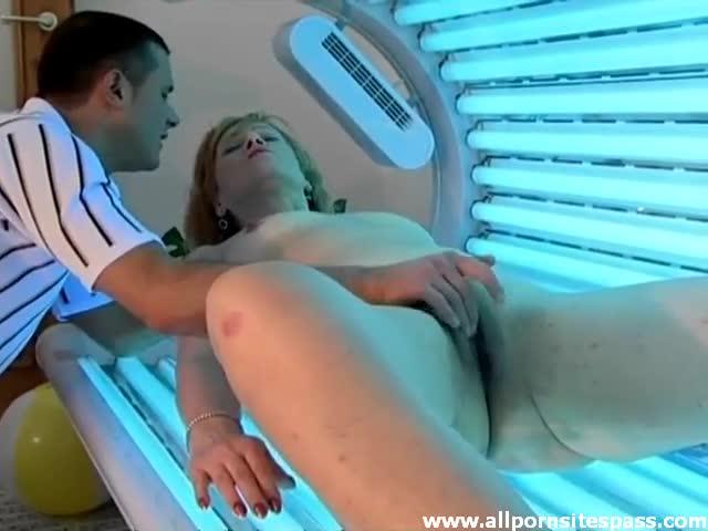 tanning bed porn xxx