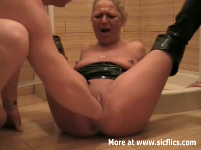 Wife fisting tube see her