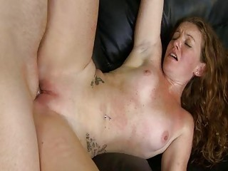 Above told Ginger pussy being fucked