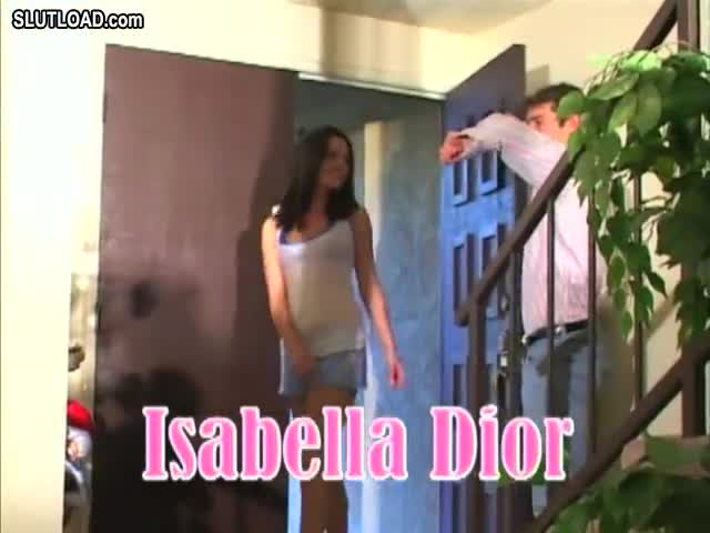Wife blowjob before babysitter
