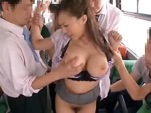 Public bus gangbang thought differently