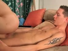 Taking load on ass