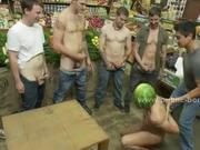 Gay gang bang humiliation