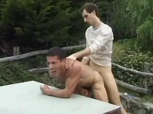 Gay Fucked Outdoor