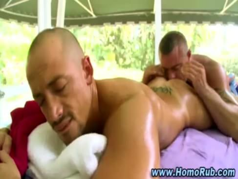gay straight rimjob and dildo fuck