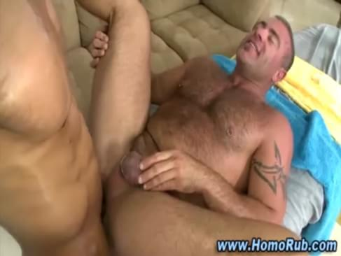 Straight Guy Fucked In Gay Massage Seduction