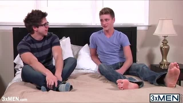 Gay teen fucking on couch