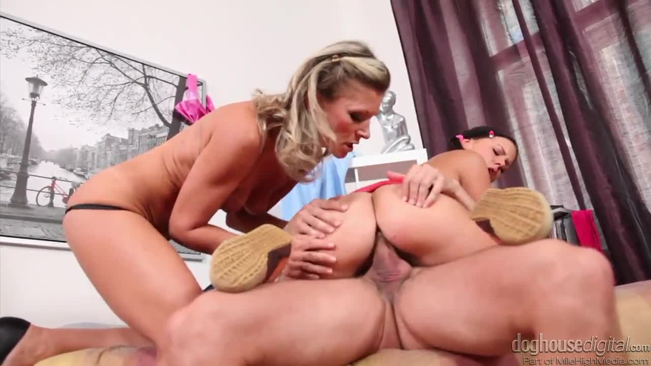 Real Hot Wife Threesome