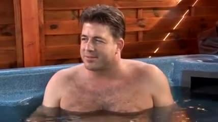 Mature fucking in a jacuzzi