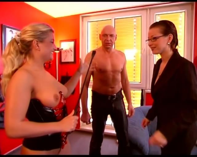 Lisa berlin trains sex slave with giant strapon039s - 5 9