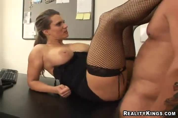Fucking a cheerleader up the ass