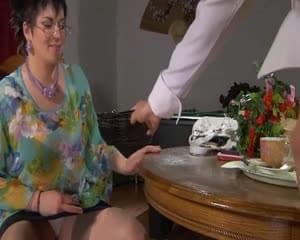 Gillian anderson giving oral sex
