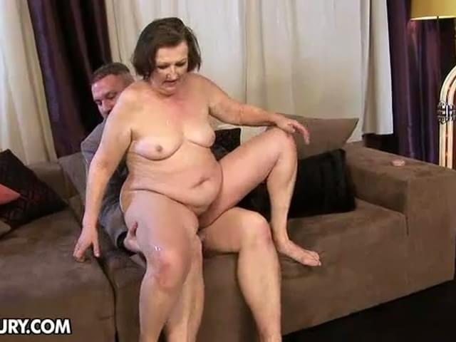 Granny anal holes
