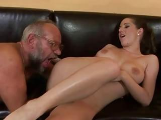 after a blowjob fucked in doggy style position