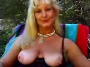 grannie sex outdoor