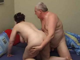 Granny and grandpa fucking