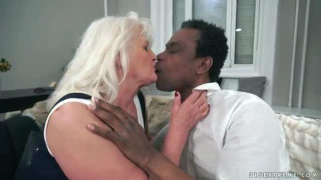 Granny Huge Black Cock