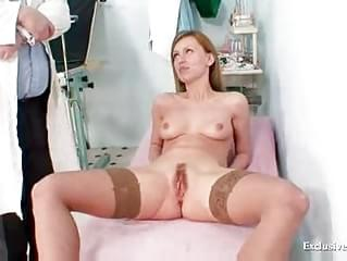 Sam gyno pussy proper examination by older doctor 7