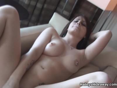 Hailey leigh masturbation