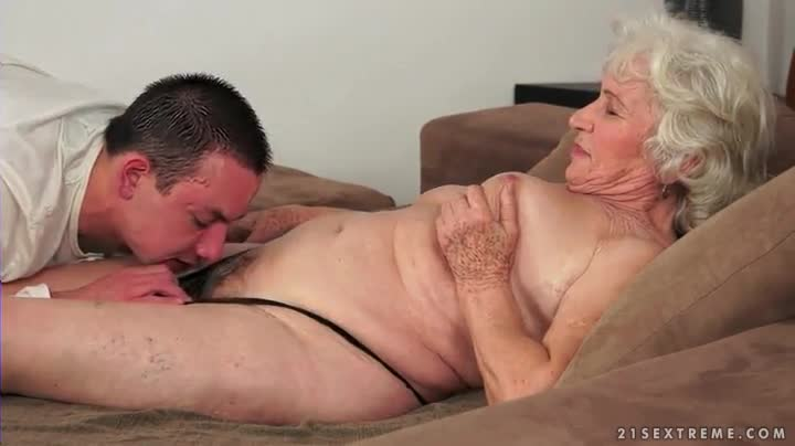 Granny Gets Pussy Licked