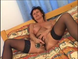 Mature in a interracial action