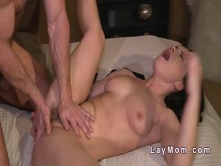 Hairy milf banged in bedroom bvr