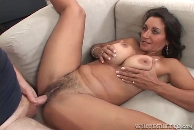 Thick brunette hairy bush penis wonder