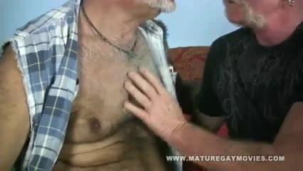 Mature guy fucks friend