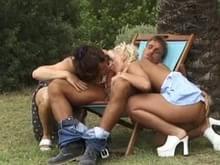 Sluts having sex outdoors