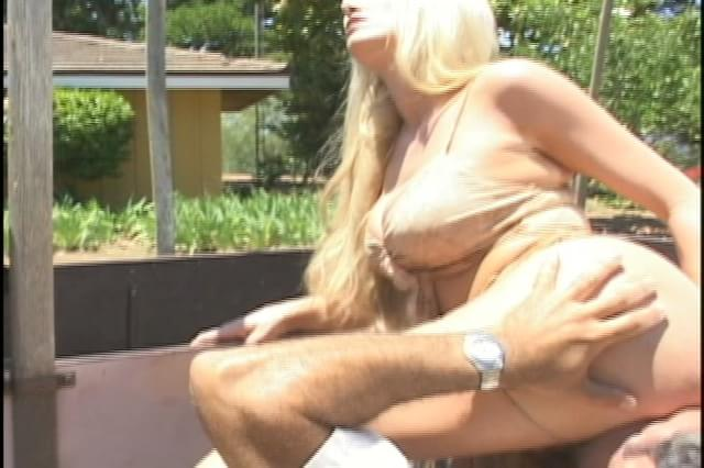 blonde anal outdoors Hardcore