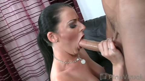 Sophie dee sloppy blowjob