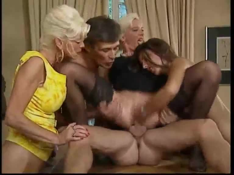 hardcore group with anal and hot fisting