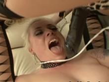 Lesbian anal creampie