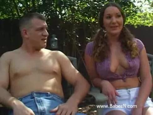 Having outdoor anal sex watch more free