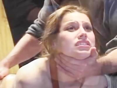 hazel gets anal training