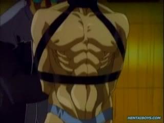 Corporal spanking punishment. Hentai gay punishment