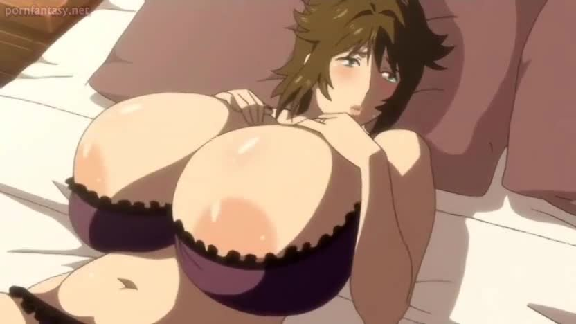 Tit anime milf fucking out the
