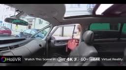 Holivr car sex adventure driving fuck porn