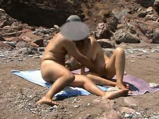Nude beach video Australia