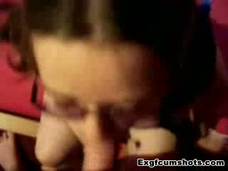 homemade teen amateur facial cumshot she loves cum on her face