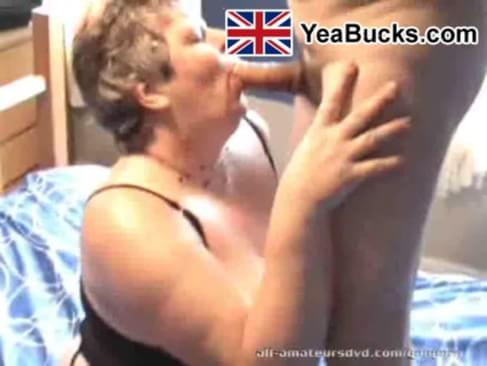 Mature uk granny old