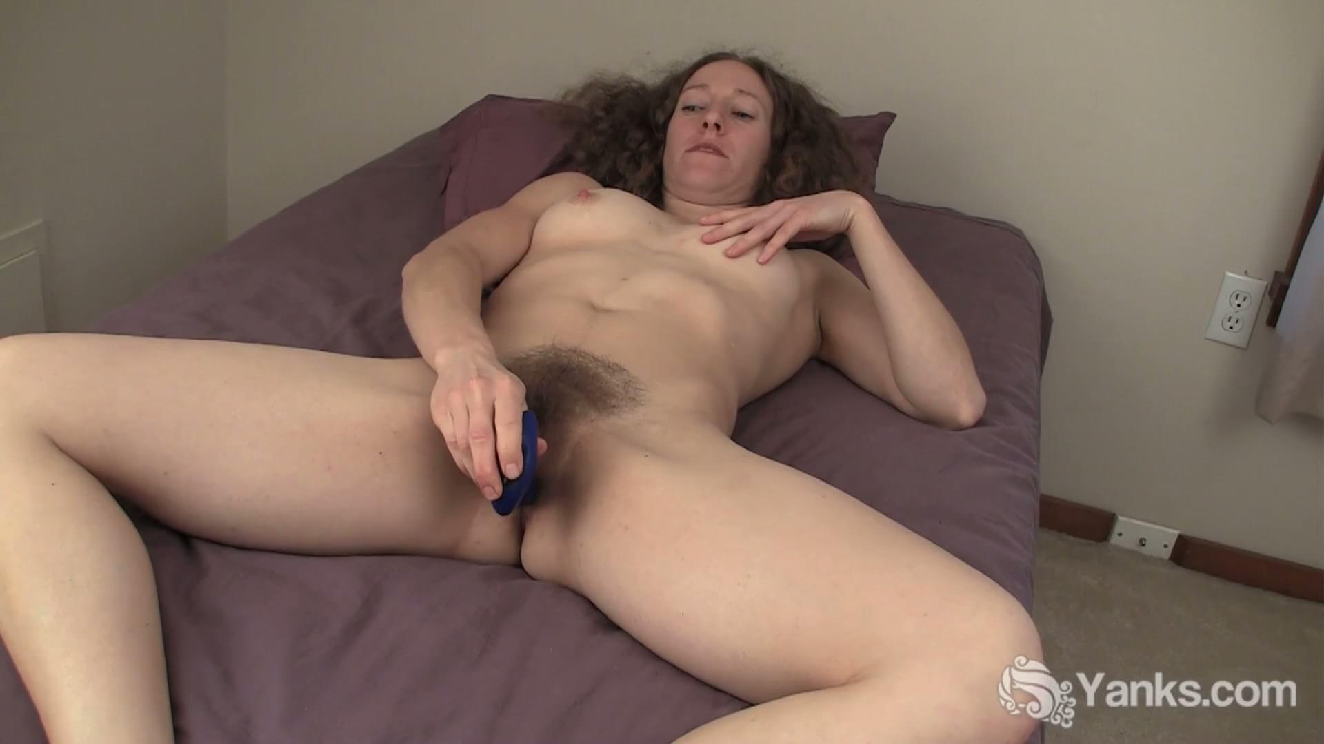 Excited Wife with dildo orgasm all
