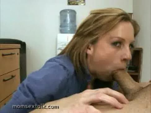 Very horny brunette amateur mom talks dirty to the cameraman before ...