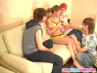 amateur porn video Friends make