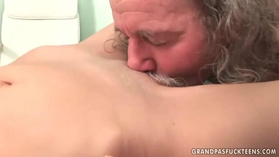Horny pussy licked and fucked