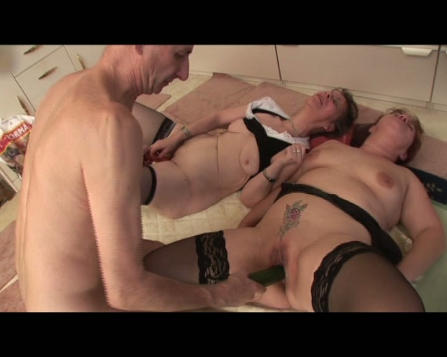 horny grannies fucked by old man chinese granny threesome. duration : 1:12