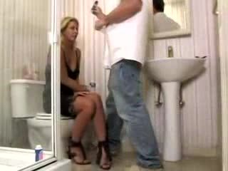Horny Housewife And Plumber