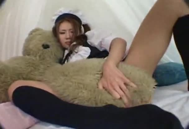 Hot asian girl masterbating