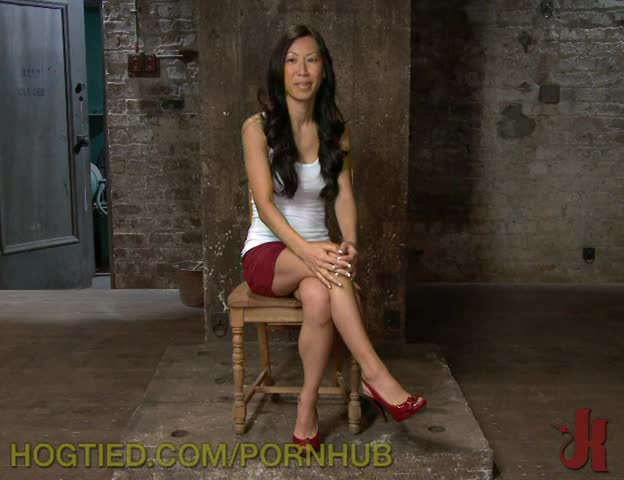 Asian lesbian tied up