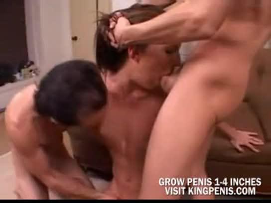 Deep throat threesomes